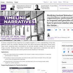 Future Of Real-Time: Timeline Narratives