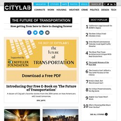The Future of Transportation - CityLab