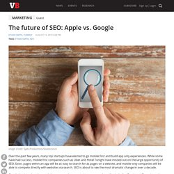 The future of SEO: Apple vs. Google