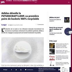 Adidas dévoile la FUTURECRAFT.LOOP, sa première paire de baskets 100% recyclable