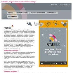 FuturEduc, imaginer l'école pour tous à l'ère numérique