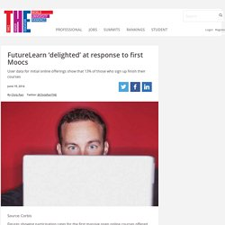 FutureLearn 'delighted' at response to first Moocs