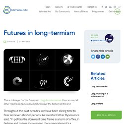 Futures in long-termism