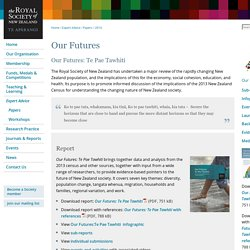Our Futures « 2014 « Papers « Expert Advice