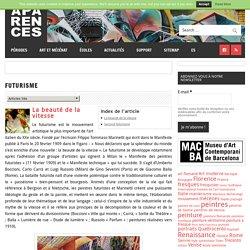 Futurisme – Aparences: Histoire de l'Art et actualité culturelle