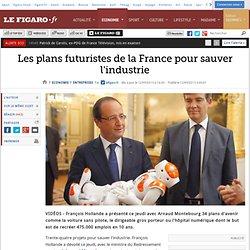Les plans futuristes de la France pour sauver l'industrie