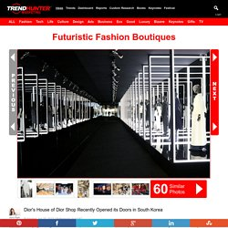 Futuristic Fashion Boutiques : Futuristic Fashion Boutique
