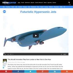 Futuristic Hypersonic Jets : aircraft innovation
