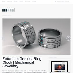 Futuristic Genius: Ring Clock