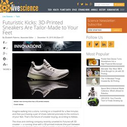 Futuristic Kicks: 3D-Printed Sneakers Are Tailor-Made to Your Feet