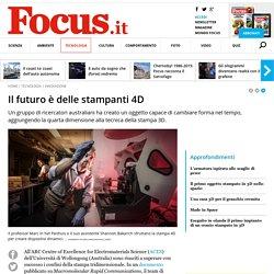 Il futuro è delle stampanti 4D