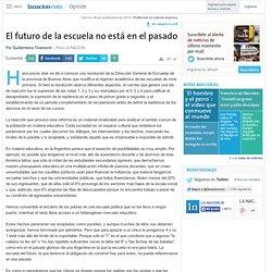 El futuro de la escuela no está en el pasado - 26.09.2014