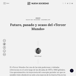Futuro, pasado y ocaso del «Tercer Mundo»