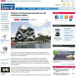 Poitiers: le Futuroscope accueille son 40 millionième visiteur