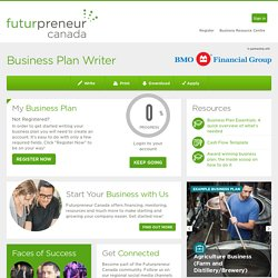 Canada - Business Plan Writer -