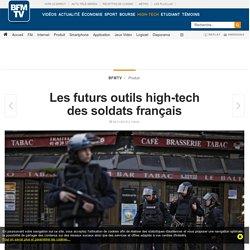Les futurs outils high-tech des soldats français