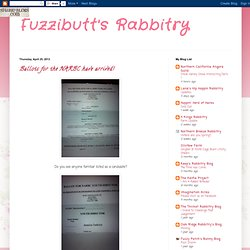 Fuzzibutt's Rabbitry