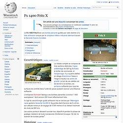 Fx 1400 Fritz X