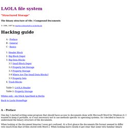 FYI: LAOLA file system, Mar/23/97