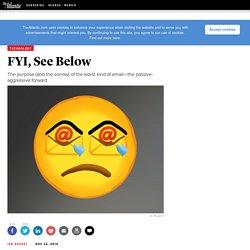 FYI, See Below