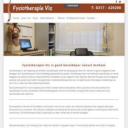 Fysiotherapie Vis in Wageningen: bereikbaar vanuit Arnhem