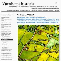 Varnhems Historia