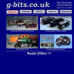 g-bits.co.uk - Products