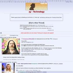 /g/ - Technology