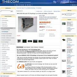 WR-G303i Winradio PC-Empfänger von 9 kHz bis 30 MHz