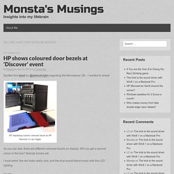 Monsta's Musings