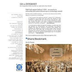 G8 vs INTERNET