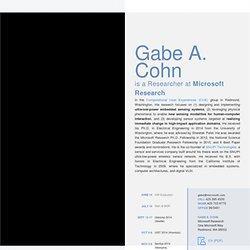 Gabe A. Cohn