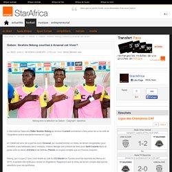 Gabon: Ibrahim Ndong courtisé à Arsenal cet hiver?