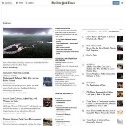 Gabon News - Breaking World Gabon News