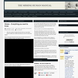 The Missing Human Manual