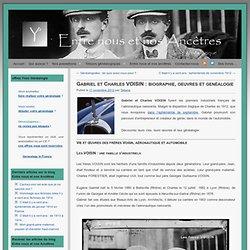 Gabriel et Charles VOISIN : biographie, oeuvres et genéalogie