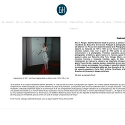 """""""Chambre d'(a)pesanteur"""", Gabriela Morawetz à la Galerie Thessa Herold"""