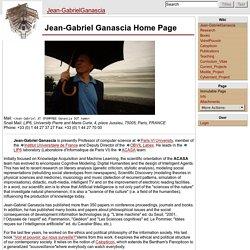 Jean-GabrielGanascia - Jean-Gabriel Ganascia
