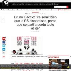 Bruno Gaccio: « ce serait bien que le PS disparaisse, parce que ce parti a perdu toute utilité »