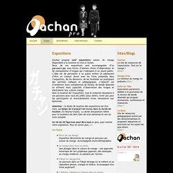 Gachan Pro : Expositions