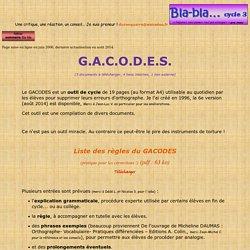GACODES
