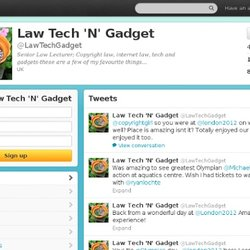 Law Tech 'N' Gadget (LawTechGadget) on Twitter