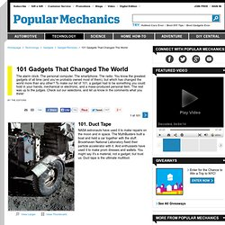 101 Gadgets That Changed The World - Top 101 Gadgets of All Time