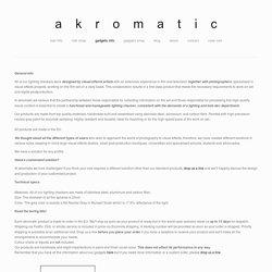 gadgets info — akromatic