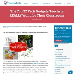 The Top 22 Tech Gadgets Teachers REALLY Want for Their Classrooms
