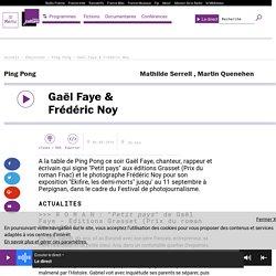 Gaël Faye & Frédéric Noy