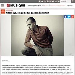 Gaël Faye, ce qui ne tue pas rend plus fort – RFI Musique