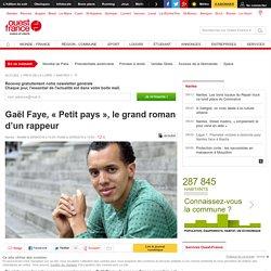 Gaël Faye, « Petit pays », le grand roman d'un rappeur