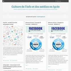 Gaelle Sogliuzzo – Culture de l'info et des médias en lycée