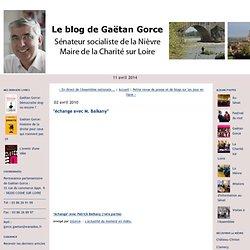 """Le blog de Gaëtan Gorce: """"échange avec M. Balkany"""""""